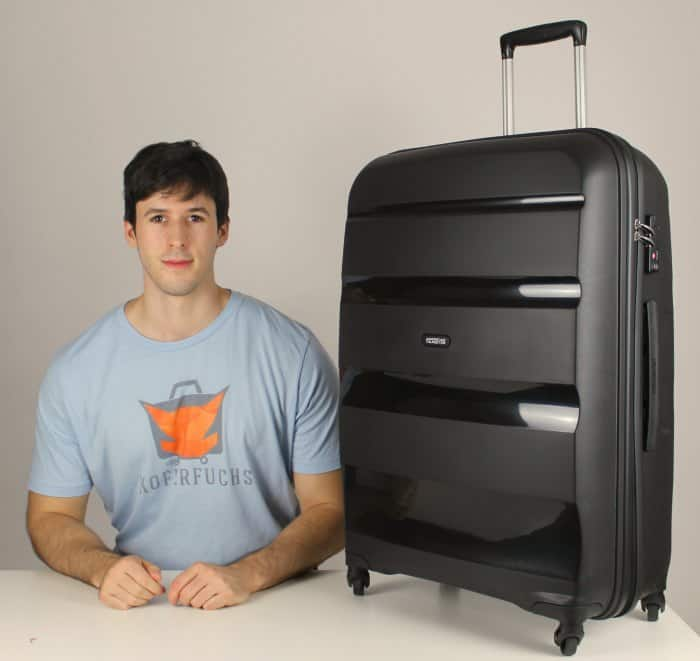 American Tourister Bon Air Spinner Test