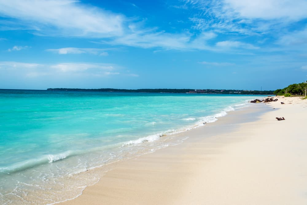Playa Blance schönste Strände Kolumbiens