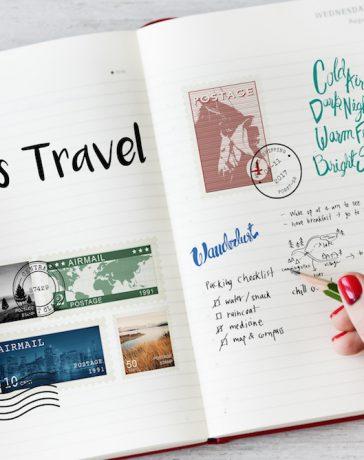 Reisetagebuch gestalten hero