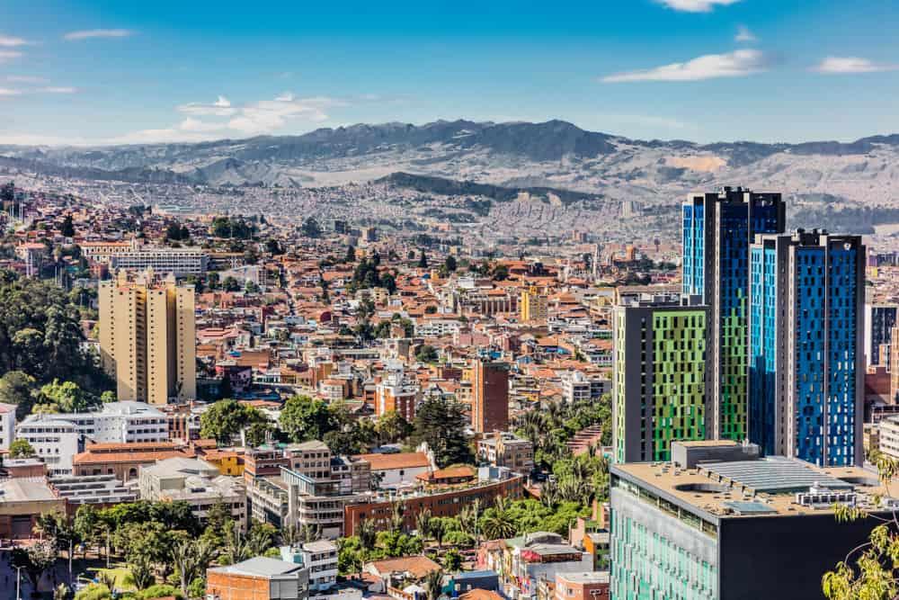 Sehenswürdigkeiten in Bogota