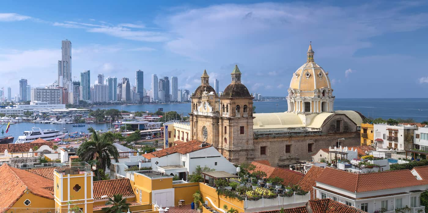 Sehenswürdigkeiten in Cartagena
