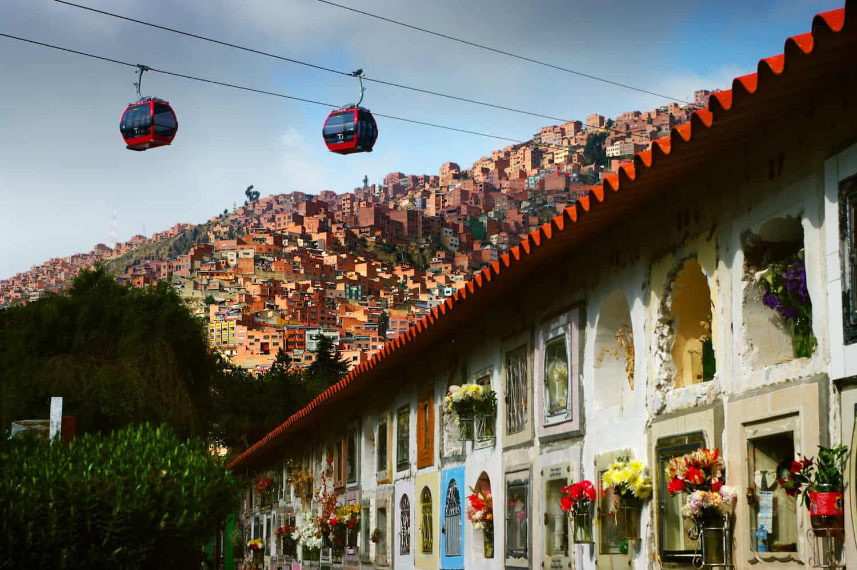 Sehenswürdigkeiten in La Paz