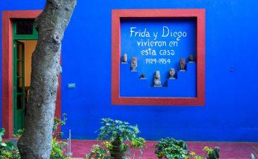 Diego Rivera Frida Kahlo in Mexiko-Stadt