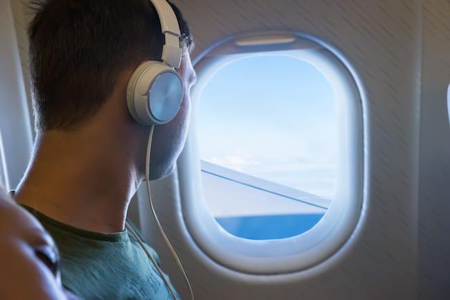 Flugzeug Kopfhörer