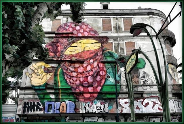 Street Art - Picoas Final Sign B copy