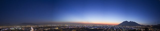Panoramica Amanecer Monterrey