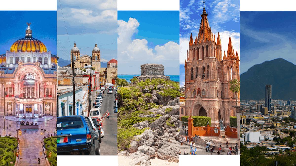 Schönsten Städte in Mexiko Hero