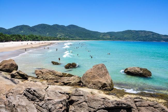 Strände in Südamerika Lopes Mendes