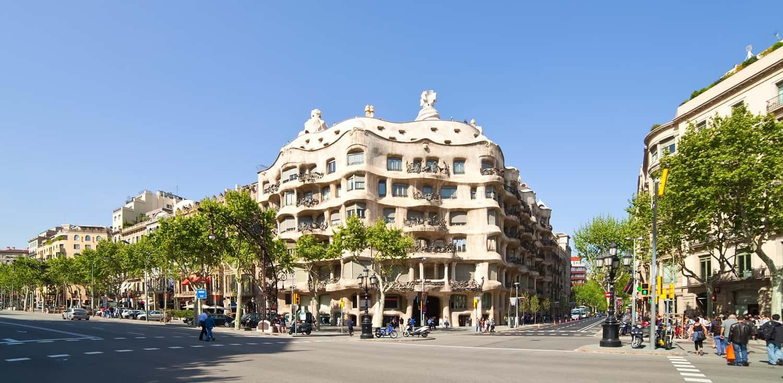 Straßen in Barcelona