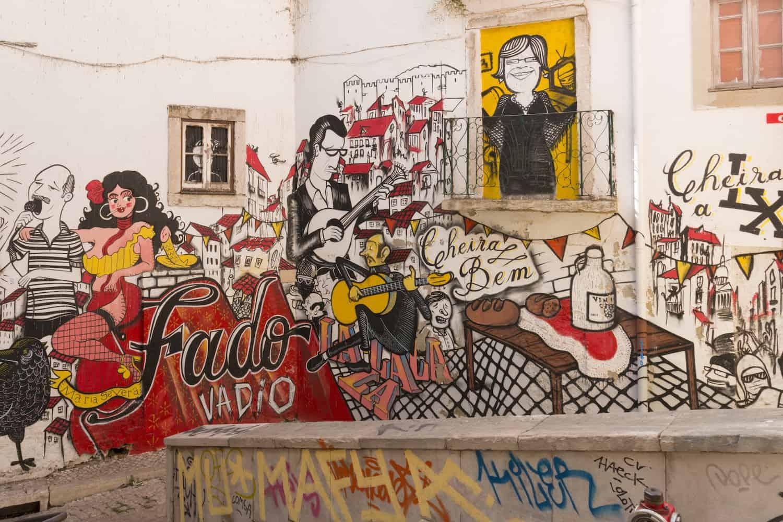 Street Art in Lissabon Hero