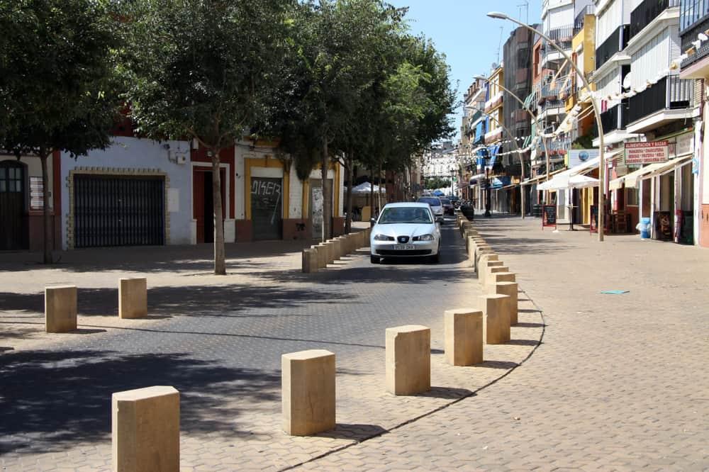 Viertel in Sevilla La Alameda