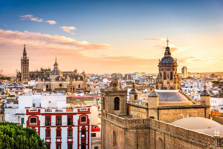 Viertel in Sevilla