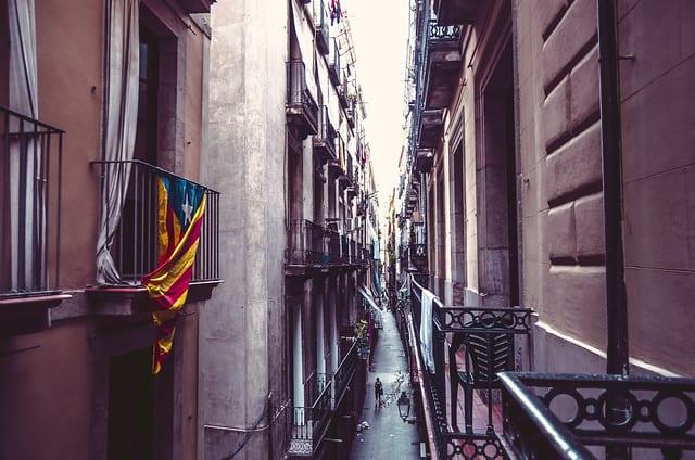 Barcelona Bilder Altstadt