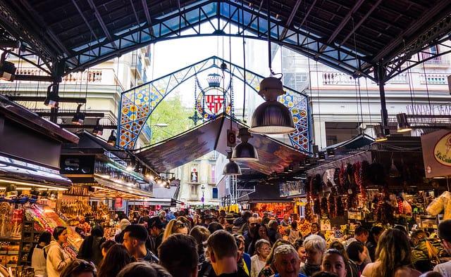 Markt Barcelona Bilder