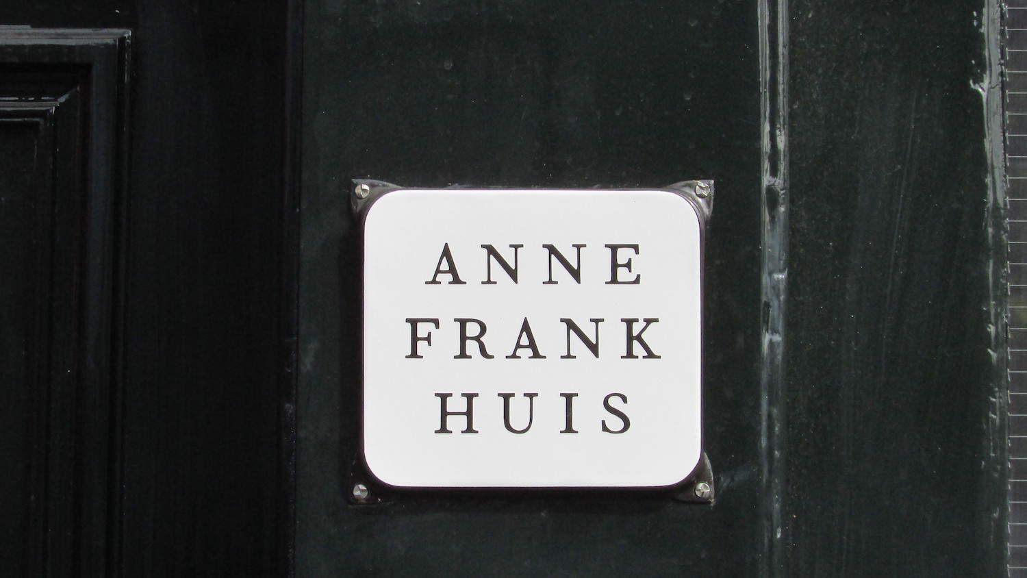 Anne Frank Haus in Amsterdam