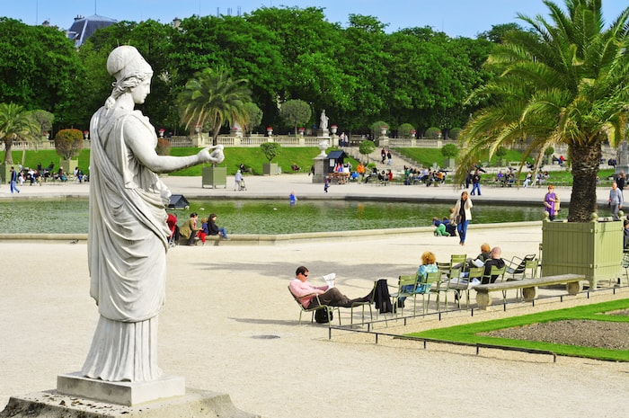 Jardin du Luxembourg Entspannung