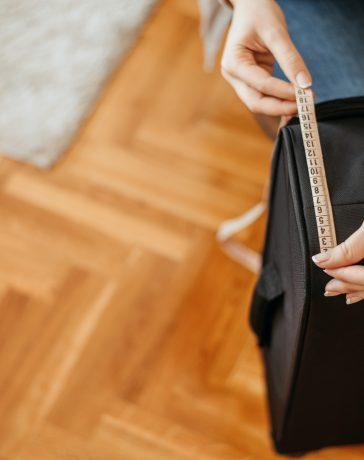 Koffer messen