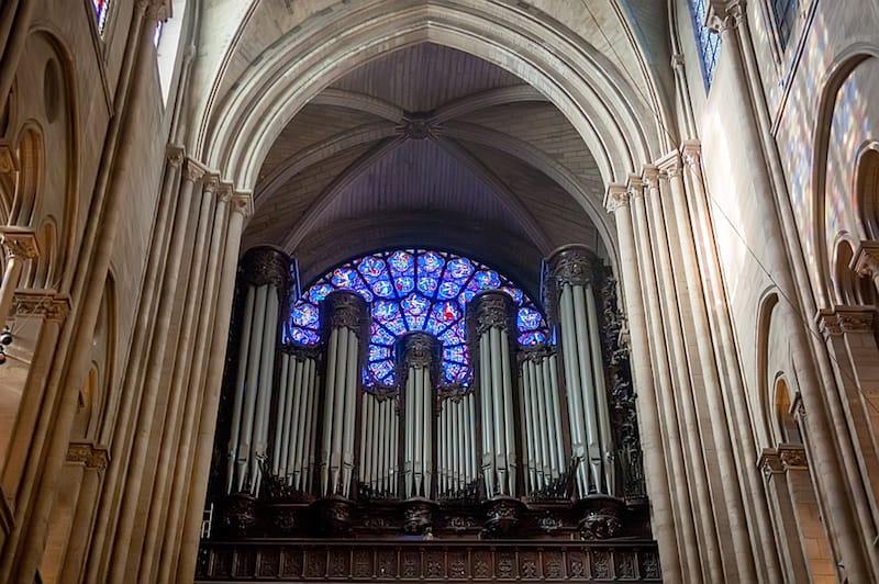 Orgel in Notre-Dame