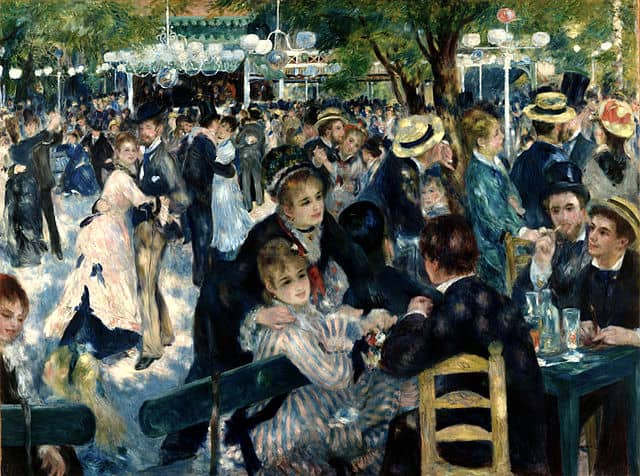 Auguste Renoir Bal du Moulin de la Galette